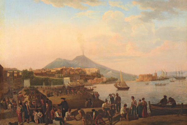 Sylvester Feodosievich Shchedrin. Naples. On the waterfront (Riviera di Chiaia).