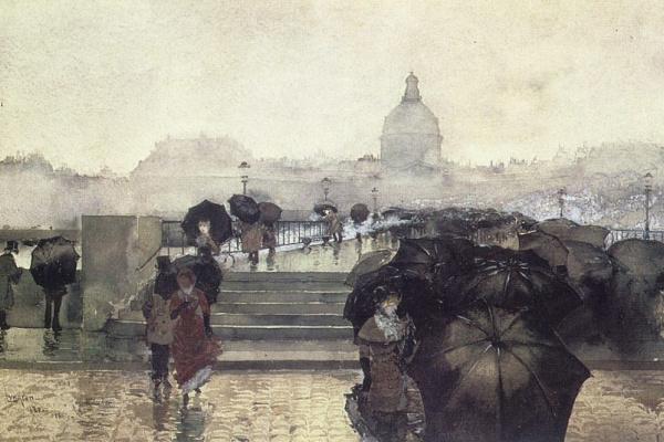 Карл Лунгрен. Черные зонты