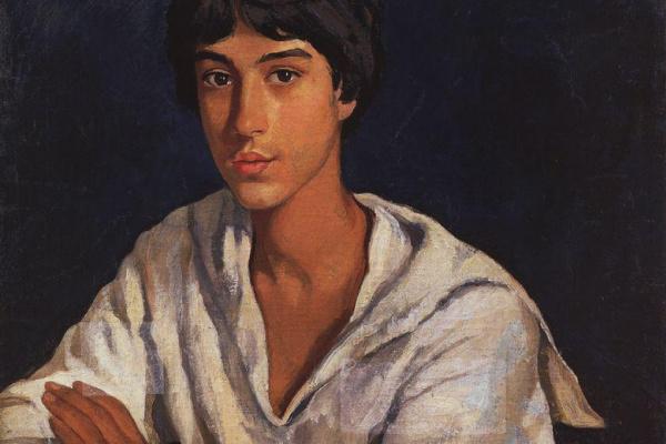 Zinaida Serebryakova. Portrait of E. I. Zolotarevsky in childhood