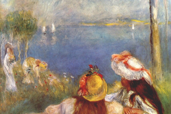 Пьер Огюст Ренуар. Девушки на берегу моря