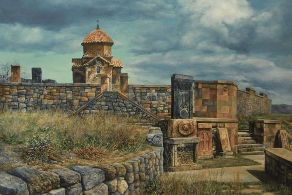 Владислав Львович Аванесов. Армянская Церковь Кармравор VIIвек