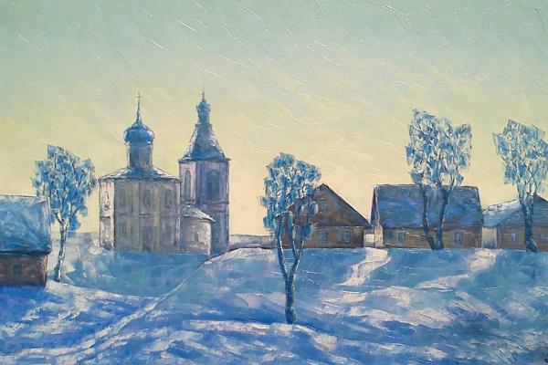Alexey Ivanovich Gladkikh. Quiet winter