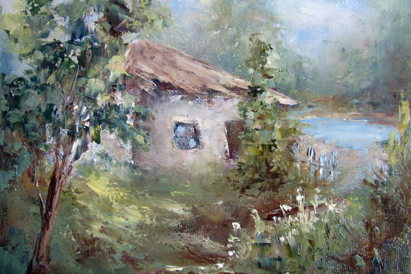 Elena Viktorovna Yudina. Lake house