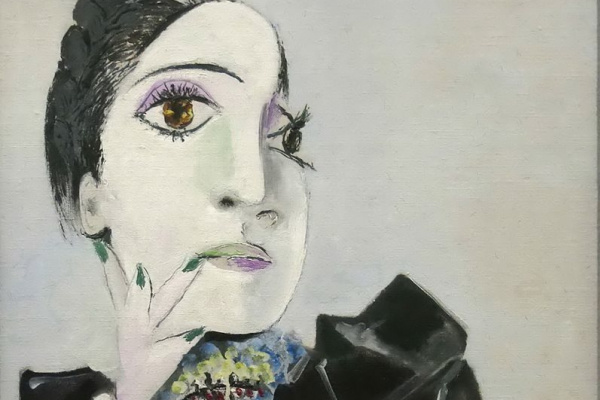 Pablo Picasso. Dora Maar with green nails