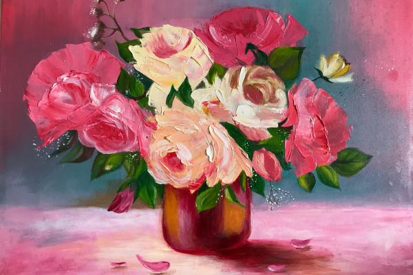 Елена Горшкова. Утренние цветы