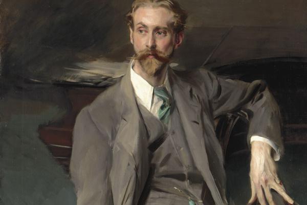 Джованни Больдини. Портрет художника Лоренса Александра (Питера) Харрисона. 1902