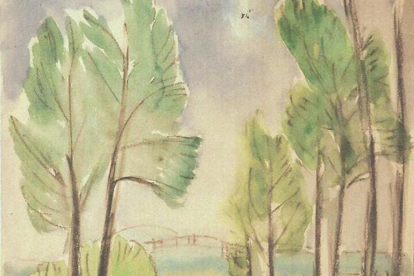 Zinaida Serebryakova. Landscape