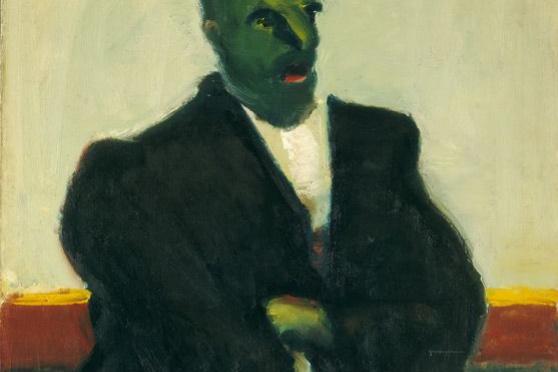 Ротко Марк. Без названия (Мужчина с зеленым лицом)