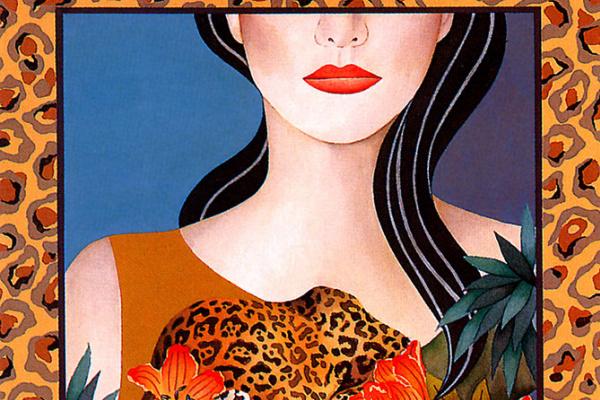 Йошико Абэ. Девушка с красными губами