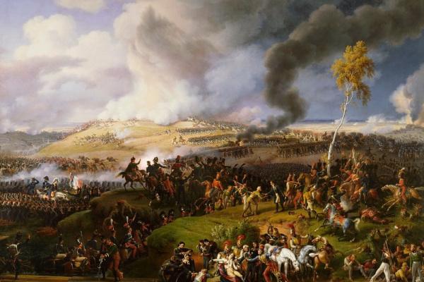 Лежен Луи-Франсуа. Бородинское сражение 7 сентября 1812 года