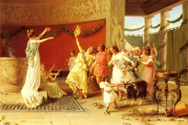 Гульельмо Зучи. Римский танец