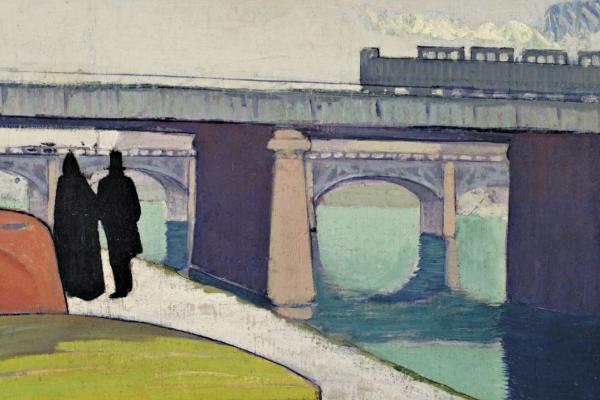 Эмиль Бернар. Мост в Аньере