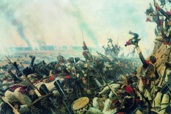 Vasily Vasilyevich Vereshchagin. The end of the Borodino battle