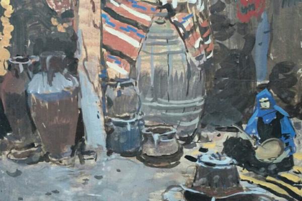 Tetyana Yablonska. In tandoor