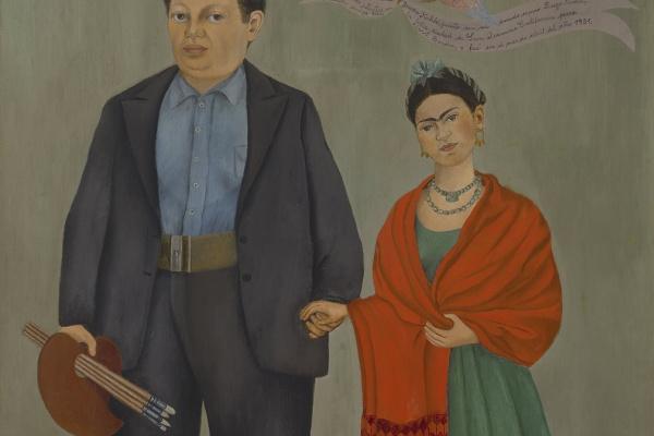 Frida Kahlo. Frida and Diego Rivera