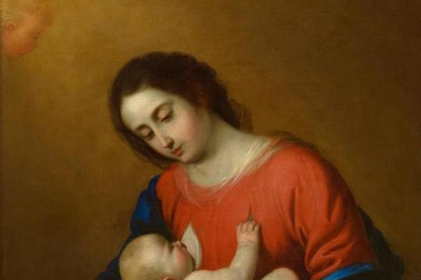 Франсиско де Сурбаран. Мадонна с Младенцем. 1658