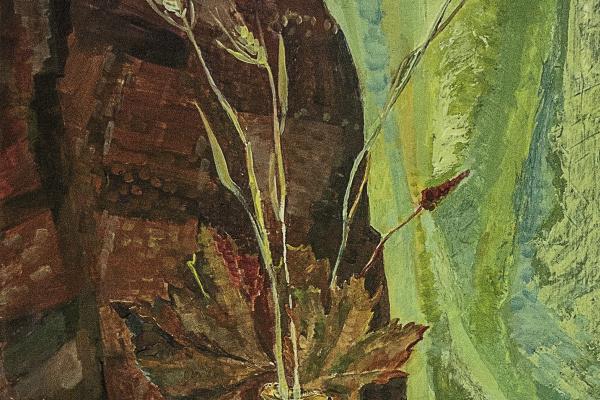 Nina Klimovskaya. Autumn still life