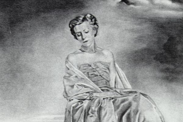 Salvador Dali. Untitled. Portrait of a woman