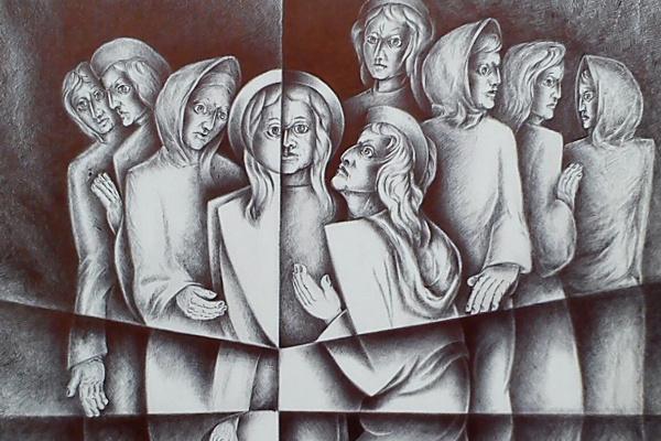 Alexey Ivanovich Gladkikh. The kiss of Judas