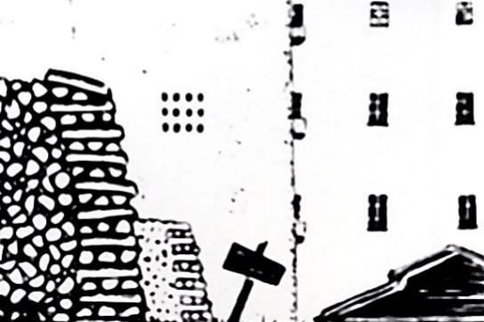 """Мстислав Валерьянович Добужинский. Иллюстрация к книге Достоевского """"Белые ночи"""""""