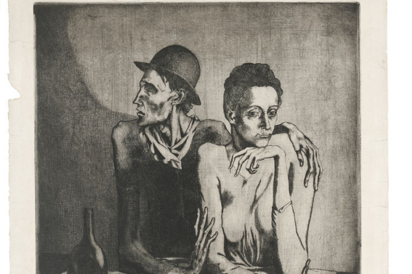 Пабло Пикассо. Скромная трапеза