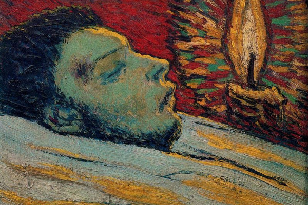 Pablo Picasso. The death of Casagemas