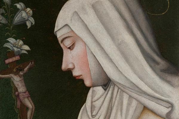 Плавтилла Нелли. Святая Екатерина с лилией
