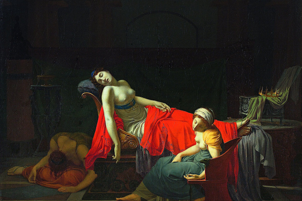 Жан Батист Реньо. Смерть Клеопатры