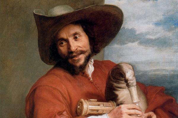 Антонис ван Дейк. Портрет мужчины в шляпе