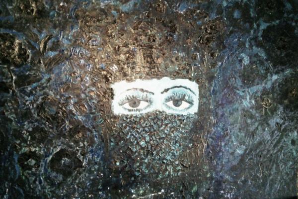 Сурен Айвазян. Лицо девушки в парандже