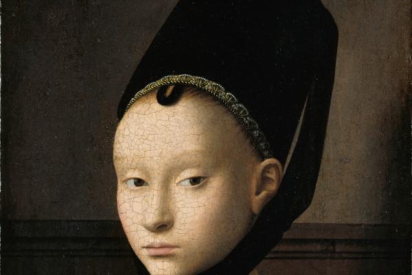 Petrus Christus. Portrait of a Young Lady