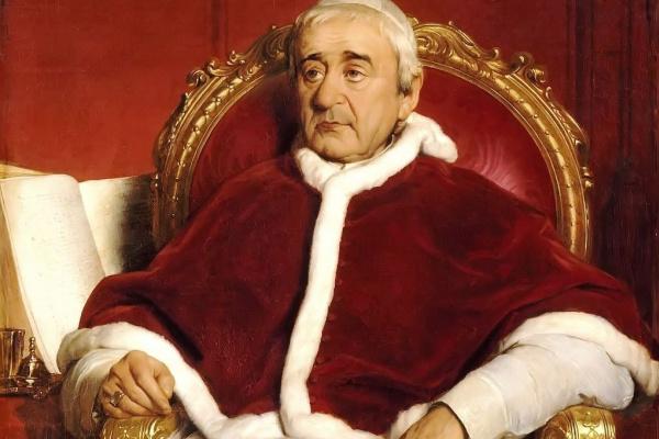 Поль Деларош. Портрет папы Григория XVI