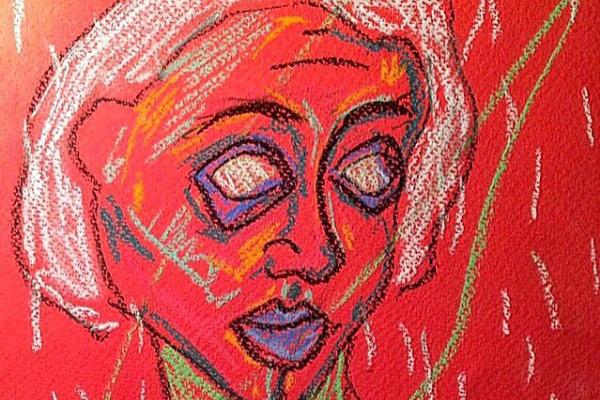 Daria Iwakina. Self-portrait