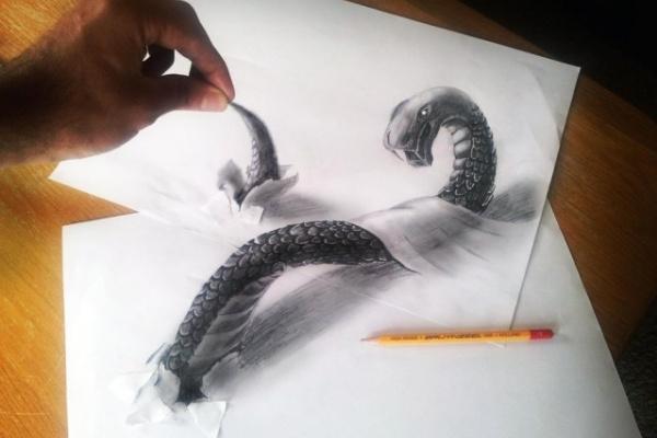 Даша Нагиева. Змея