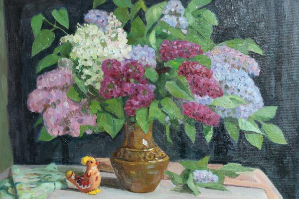 Eugene Alexandrovich Kazantsev. Lilac.