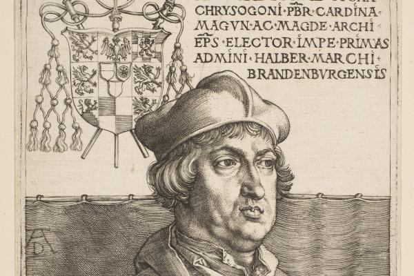 Альбрехт Дюрер. Кардинал Альбрехт из Бранденбурга (Малый кардинал)