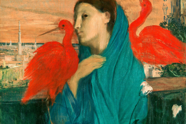 Edgar Degas. Young woman with IBIS