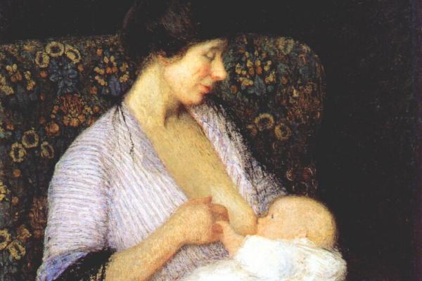 Хелен Мария Тернер. Мать и дитя