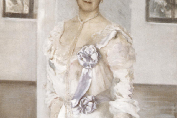 Lev Samoilovich Bakst (Leon Bakst). Portrait of Countess Keller