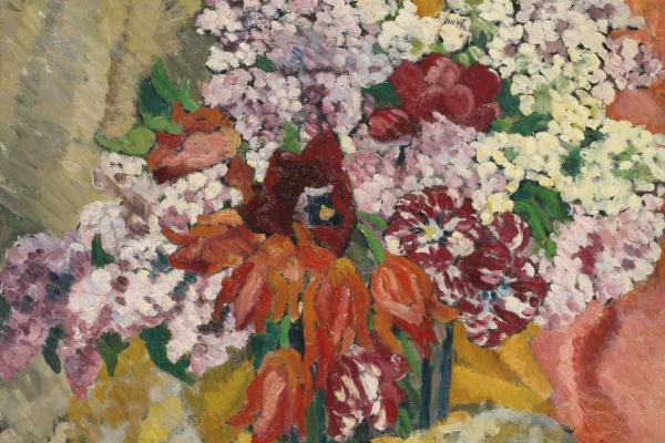 Луи Вальта. Букет цветов
