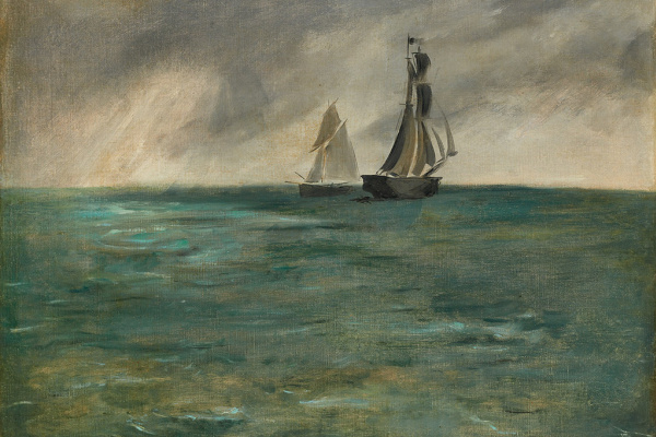 Edouard Manet. Sea in Stormy Weather
