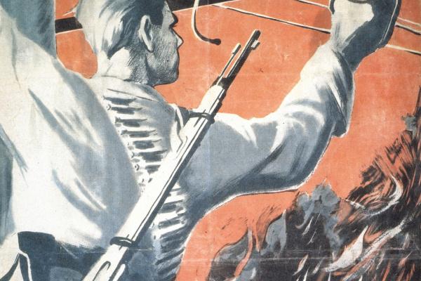 Павел Петрович Горелый. Слава героям-партизанам, разрушающим фашистский тыл!