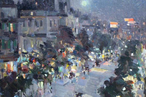 Konstantin Alekseevich Korovin. Paris
