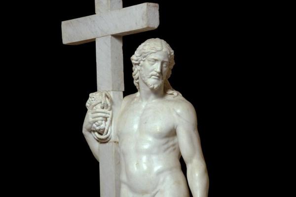 Микеланджело Буонарроти. Христос с крестом