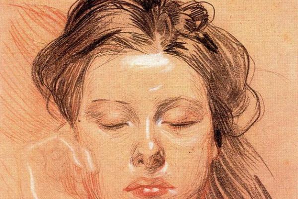 Франтишек Купка. Лицо спящей