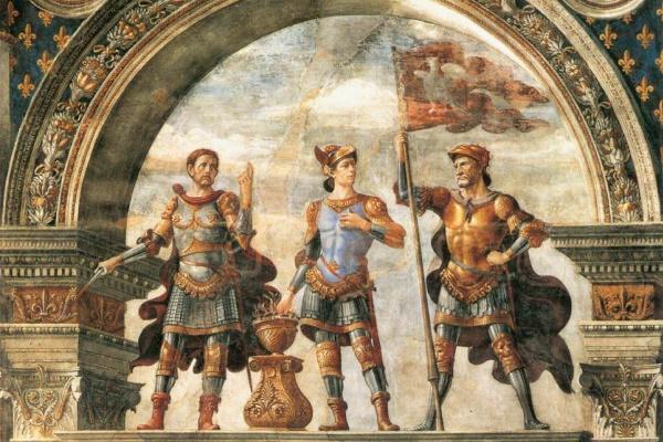 Доменико Гирландайо. Фреска для Зала Лилий