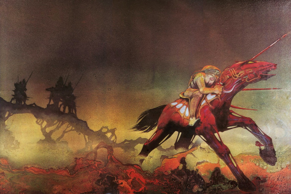 Roger Dean. The plot to the music