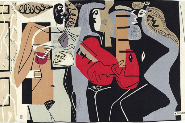 Le Corbusier. Three musicians