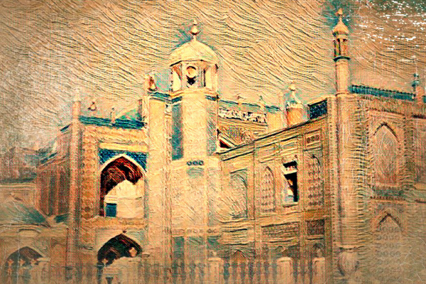 Алексиос  Шандермани. THE BLUE MOSQUE, MAZAR-I-SHARIF