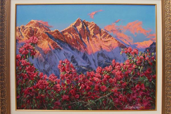"""Artem Yurievich Puchkov. """"Parvateshwara"""", (King of the Mountains)."""